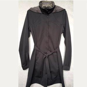 EUC Lululemon Apres Jacket Sz 8 Fleece Lined